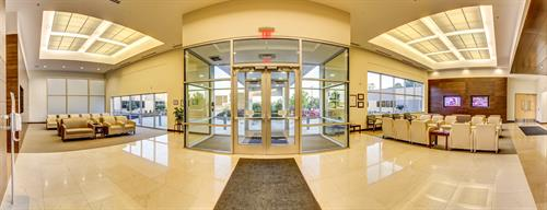 CenterPointe Hospital front lobby 360