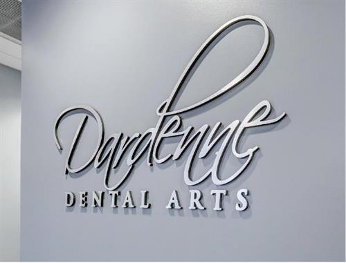 Dardenne Dental Interior Signage