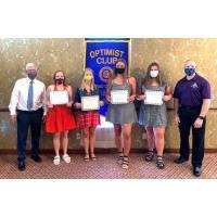 Optimist Club of St. Charles Awards Scholarships