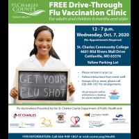 Free Flu Shots at Drive-Through Clinic Oct. 7