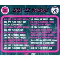 Ambush Schedule is Set!