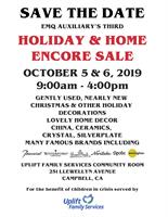 HOLIDAY & HOME ENCORE SALE