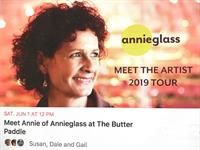 Meet Annieglass founder, Annie Morhauser, at The Butter Paddle
