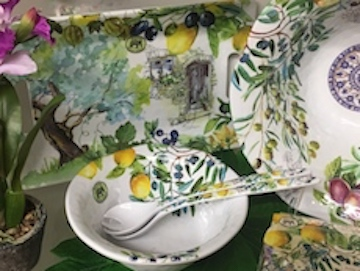 Tuscan Grove Melamine by Michel Designs