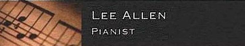 Lee Allen-Pianist