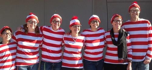 FInd Waldo at Fisher Middle School