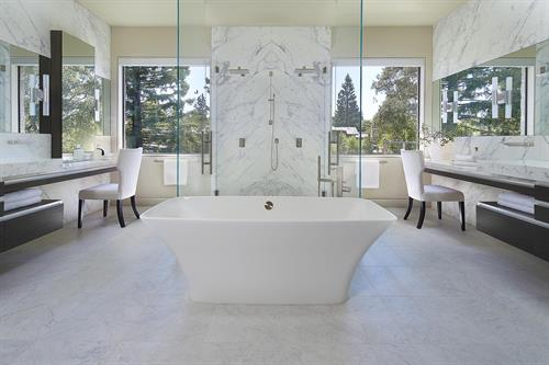 Atherton New Build - Master Bath