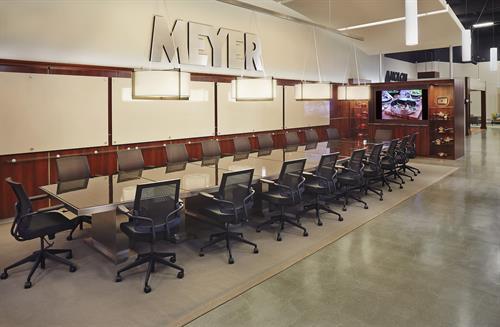 Meyer Corporation - Vallejo Headquarters Showroom Meeting Space