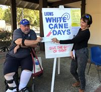 Los Gatos Lions White Canes Days October 1 -31