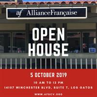 Open House Alliance Francaise Silicon Valley