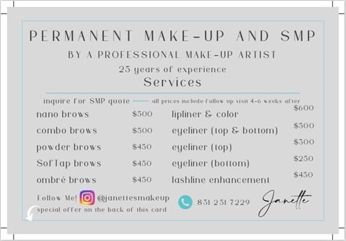 I take limited clients and have a waiting list on most days, call me now to get on the books.