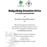 """Trancas Country Market """"Baby2Baby"""" Holiday Donation Drive"""