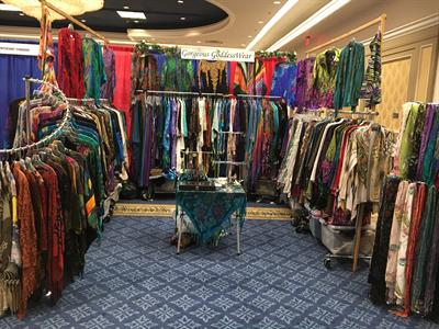GoddessWear at the Naturopathic Convention in Las Vegas