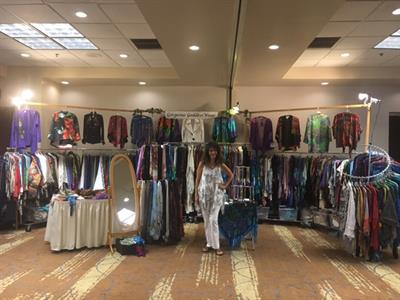 GoddessWear at a conference in Phoenix