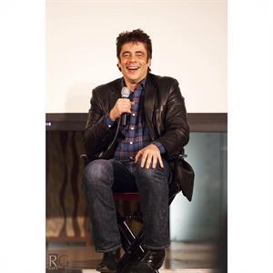 Q&A with actor Benicio del Toro