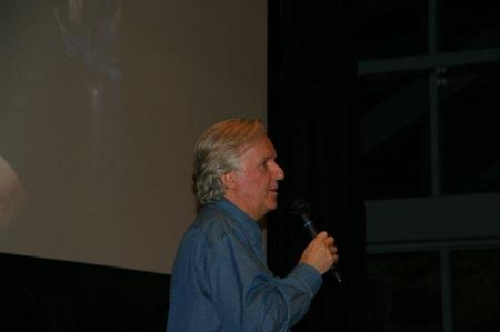 Producer/director James Cameron at our inaugural event