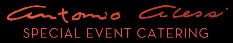 Antonio Alessi Special Event Catering