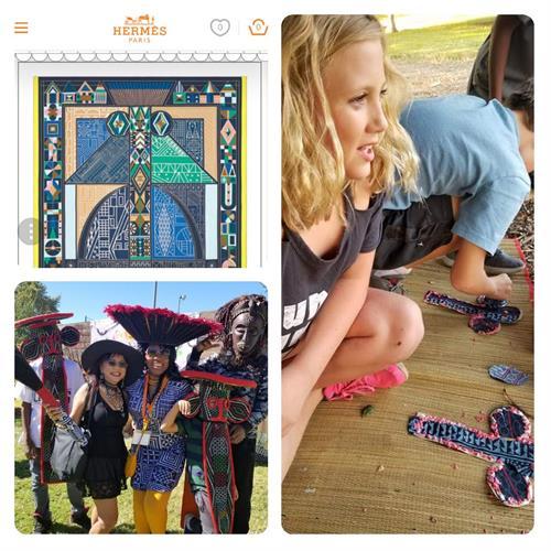 Pumpkin Festival and Bamileke Elephant mask activities