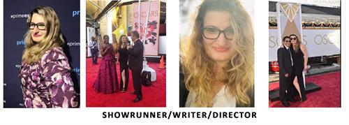 "Showrunner of the new Amazon Prime Series ""Marisa Romanov"" Miranda Spigener-Sapon"