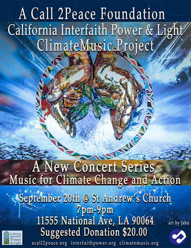 September 20th 2019 Concert Poster
