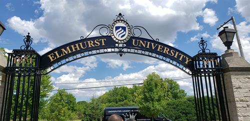Elmhurst University Gate of Knowledge