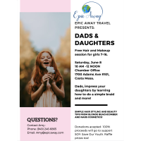 Dads & Daughters Free Hair & Makeup
