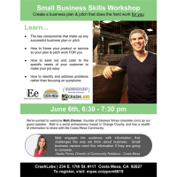 Skills Workshop: Create a business plan and pitch that does the hard work for you