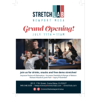 StretchLab Newport Mesa Grand Opening & Ribbon Cutting