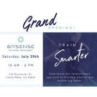 2019 6th Sense Fitness Grand Opening