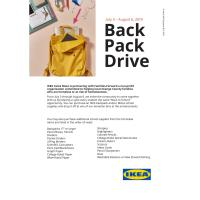 Ikea Backpack Drive