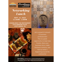 2019 Networker's Luncheon September