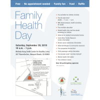 Family Health Day/Dia de Salud Familiar