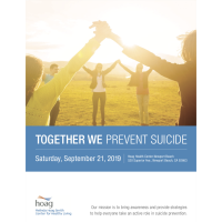 Together We Prevent Suicide / Juntos Prevenimos el Suicidio