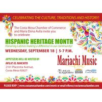 2019 Hispanic Heritage Month Celebration