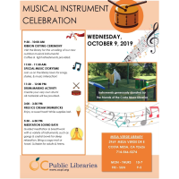2019 Musical Instruments Ribbon Cutting Ceremony