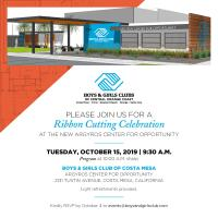 2019 Boys & Girls Club Argyros Center Ribbon Cutting