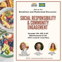 2019 Social Responsibility & Community Engagement Breakfast