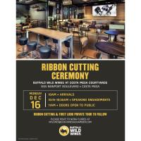 2019 Buffalo Wild Wings Ribbon Cutting Ceremony