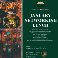 2020 Networking Lunch - January
