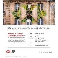 2020 HSBC Bank Grand Opening Celebration