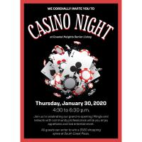 2020 Casino Night: Coastal Heights Grand Re-Opening