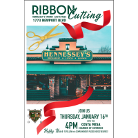 2020 Hennessey's Tavern Ribbon Cutting Celebration
