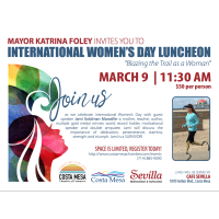 2020 International Women's Day Luncheon