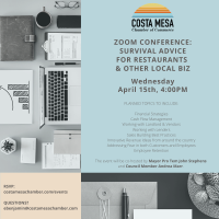 Zoom Conference: Survival Advice for Restaurants & Other Local Biz