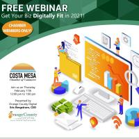 FREE WEBINAR Get Your Biz Digitally Fit in 2021!