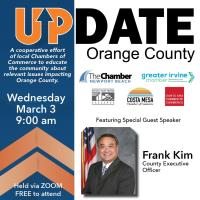 UPDATE Orange County with County Executive Officer Frank Kim - Webinar