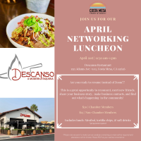 2021 Networking Lunch - April 21st