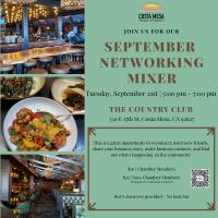 Chamber Networking Event - September 2021