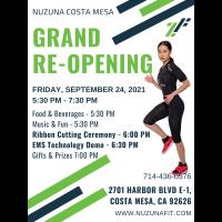 Nuzuna Costa Mesa Grand Re-Opening & Ribbon Cutting