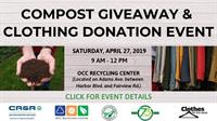 Compost Giveaway & Clothing Donation Event